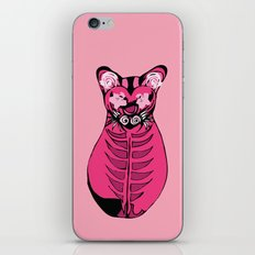 Tres Gatos Rosados - Cat Triptych for Pussy Riot iPhone & iPod Skin