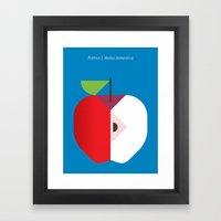 Fruit: Apple Framed Art Print