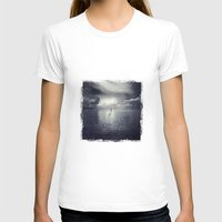 Walk Of Imagination Womens Fitted Tee White SMALL