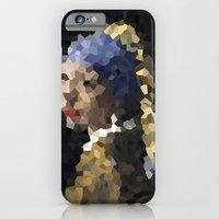 Pixelated Girl with a Pearl Earring iPhone 6 Slim Case