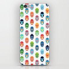 Lucha libre mask pattern iPhone & iPod Skin