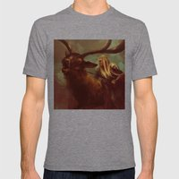 Thranduil The Faithless Woodland Sprite Mens Fitted Tee Tri-Grey SMALL