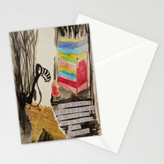 The Princess meets The Great Auk Stationery Cards