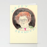 Happy Bruleday Stationery Cards