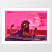 G'L'Amour Art Print
