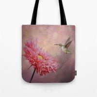 A Hummingbirds Dance Tote Bag