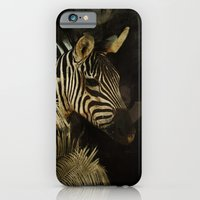 iPhone & iPod Case featuring The Zebra by TaLins