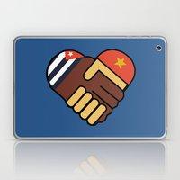 Hands Of Friendship Laptop & iPad Skin
