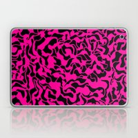 Abstract Pink Black Geom… Laptop & iPad Skin