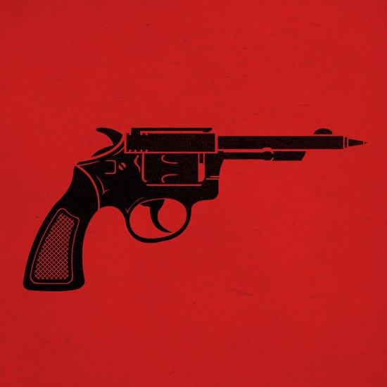 Pen Gun Art Print