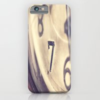 iPhone & iPod Case featuring Seven by Maite Pons