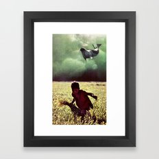 what dreams are made of...  Framed Art Print