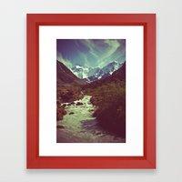 Belukha Framed Art Print
