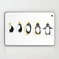 Yin Yang Penguin Laptop & iPad Skin