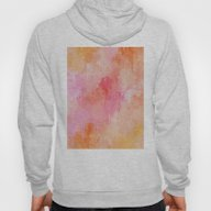 Pink Abstract Hoody