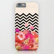 Chevron Flora II iPhone 6 Slim Case