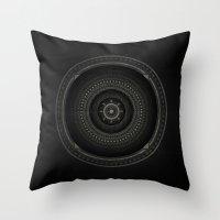 Inner Space 3 Throw Pillow