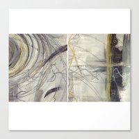 Behind Time Duo Canvas Print