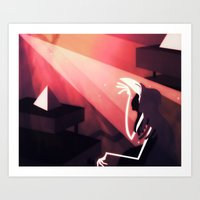 The Heightening Art Print