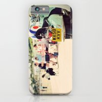iPhone & iPod Case featuring Vintage Vespa ♥ by Gisele Morgan