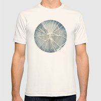 Shattered Mens Fitted Tee Natural SMALL