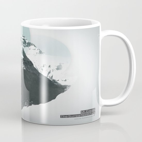 Mt. Everest - The Surreal North Face Mug