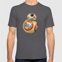 Cute Little Droid Mens Fitted Tee Asphalt SMALL