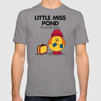 Little Miss Pond Mens Fitted Tee Tri-Grey SMALL