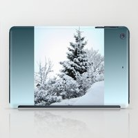 Natures Christmas Tree iPad Case