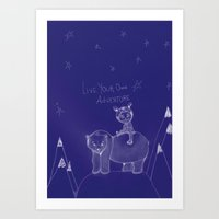 Live Your Own Adventure Art Print