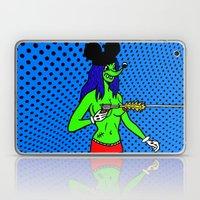 Bang.  (Mouseketeer).  (On Blue). Laptop & iPad Skin