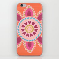 Suzani inspired floral 1 iPhone & iPod Skin