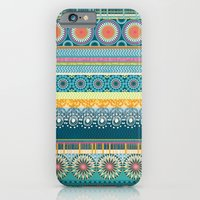 Blue Streaks iPhone 6 Slim Case