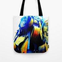 Technicolor Cellos  Tote Bag