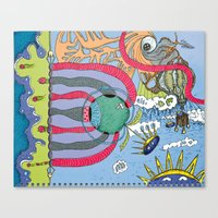 Use Your Imagination Canvas Print