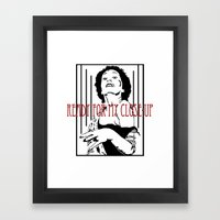 All right, Mr. Demille... Framed Art Print