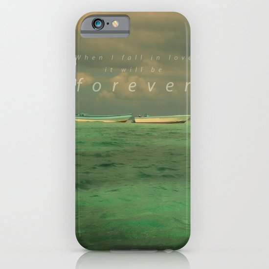 When I fall in love.... iPhone & iPod Case