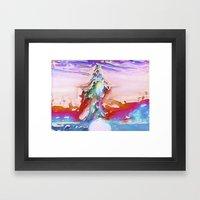 Plaster Framed Art Print