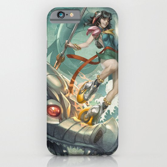 Nazha vs Sea Dragon iPhone & iPod Case