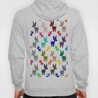 Colorful Chihuahuas On P… Hoody