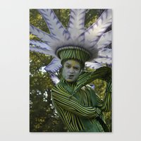 flower man Canvas Print