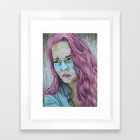 sick Framed Art Print