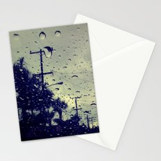 rainy day. Stationery Cards