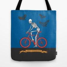 HELL ON WHEELS Tote Bag