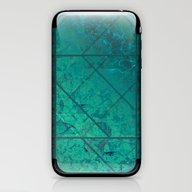 Green Marble Texture G29… iPhone & iPod Skin
