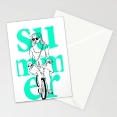 Summer Cycle Stationery Cards