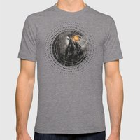 Melina Mens Fitted Tee Tri-Grey SMALL