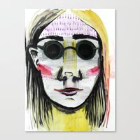 Head Shot #4 Canvas Print