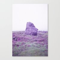 Foggy Stone Canvas Print