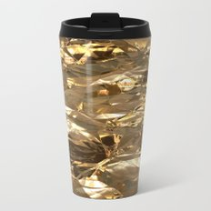 Gold Metal Travel Mug